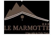 Le Marmotte Hotel Valle Maira Acceglio Logo